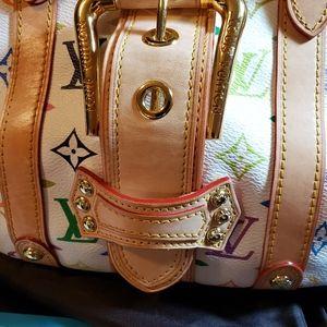 Louis Vuitton Bags - Louis Vuitton Theda PM White Multicolor Satchel